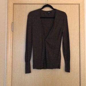 Mossimo: Chocolate Brown Cardigan